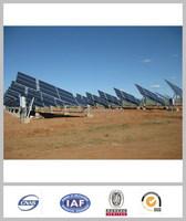 1MW flat roof &ground solar mounting system,concrete foundation solar panel mounting bracket, solar PV fixing system