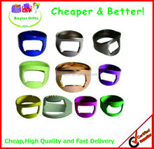 Factory Prices promotional logo printing Promotional Beer ring Bottle Opener