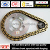 Tempered Motorcycle Chain Sprocket, motorcycle sprocket for honda dream,428 chain sprocket