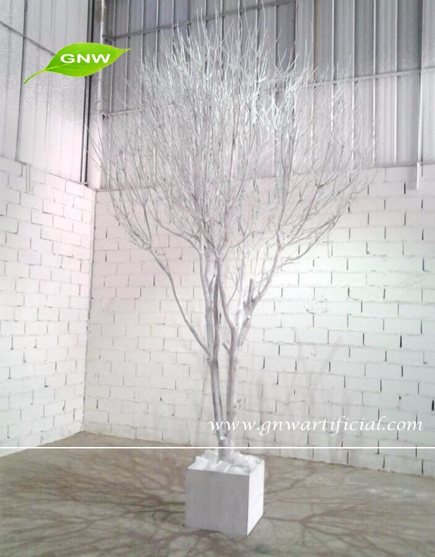 Gnw wtr wholesale natural wood white artificial dry