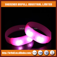 12 years experience silicone wristbands with led lights