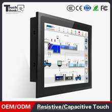 15inch LCD rugged computer all in one touchscreen pc true flat seamless