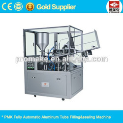 Fully automatic aluminum tube filler sealer cosmetic tube sealing machine grease tube filling machine