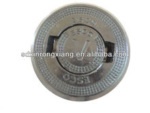 precoted sand heat-resist cast iron drain cover