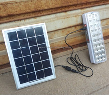 automatic wall mounted 30led solar emergency light