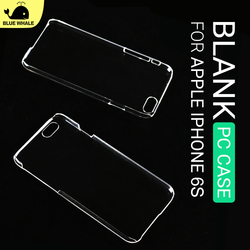 For Back Hard Iphone 6S Plus Cover, Wholesale Cheap Mobile Phone Case For Iphone 6S Plus, For Pc Blank Clear Iphone 6S Plus Case