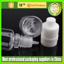 Hot New Products for 2015 PET 10ml plastic dropper eliquid bottles with tamper childproof cap