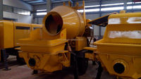 used portable concrete mixer pump China supplier with best price