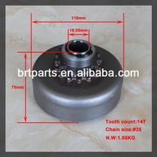 "14T 3/4"" #35 GE series 200cc racing kart centrifugal clutch"