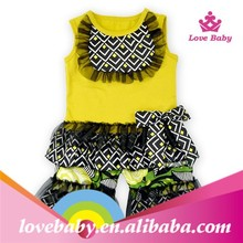 Summer import baby clothes boutique outfits LBS5031304