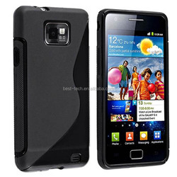 S Line Flexible TPU Protective Cover Case for Samsung Galaxy S2 i9100