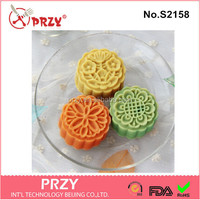 DIY handmade round shape silicone molds for soap making