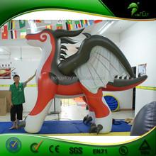 Best Price Christmas Inflatable Dragon Cartoon,Inflatable Moving Cartoon,Inflatable Advertising Cartoon For Sale