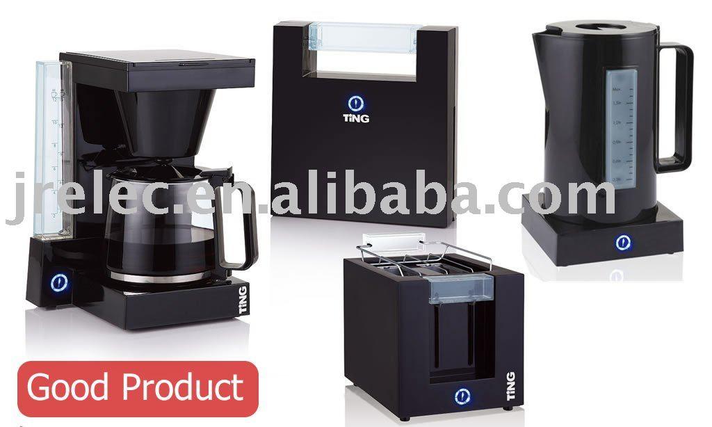 Coffee Maker/2 Slice Toaster/sandwich Maker/electric Kettle/4 In 1 Breakfast/morning Set 4 In 1 ...