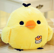 Novelty promotional gifts yellow chicken plush toys