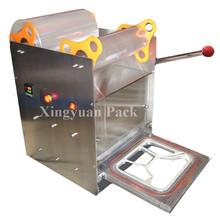 Manual Desktop fast food box sealing machine/tray sealer