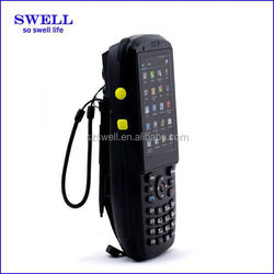 M3500 High Quality rugged phone miniLanser Barcode Scanner/ octa core processor phone