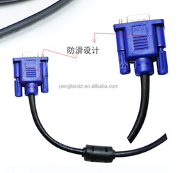 Vga Rca Cable 15 pin VGA DB15 D-sub Cable Male or Female Connectors