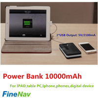 China power bank double usb 2.1A power bank recharger battery for iphone4 power bank for ipad table PC