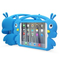 Waterproof bumper cover shock proof case car style tablet case for ipad mini silicone case