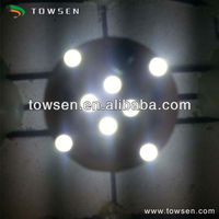 E10 SMD 12 LEDs Amusement Park Waterproof LED Ring Light(Double side,standard base)