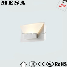 aluminum illumination bath modern wall light