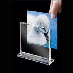 Free Standing Magnetic Acrylic A4 flexible open hot sexy girl photo or photo picture frame