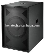 "18"" subwoofer speaker box with new design"