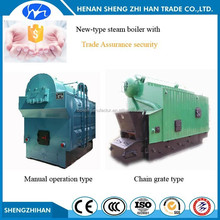 Trade Assurance high quality low pressure chain grate or manual operation type coal fired steam generator boiler