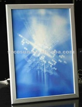 Aluminum snap frame diy led light box