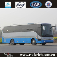 Safety and comfortable long distance 10m travel bus with washroom
