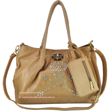 Euro Women Skull PU Leather Shoulder Bag,Messenger Bag Handbags
