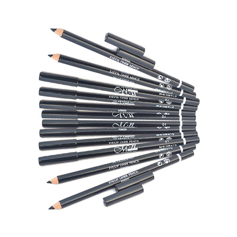 Waterproof Functional Lip Liner Pencil Eyebrow Eye Lip Makeup Colorful Cosmetic Lipliner Pen