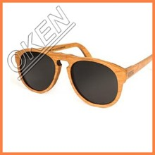 2015 New nature polarized bamboo sunglasses skateboard