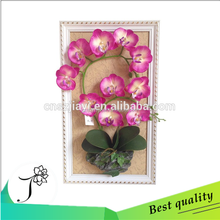 high quality artificial wall built-up flower butterfly orchid