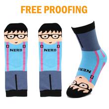 Teen boys tube cartoon socks , funny sex young boy tube socks