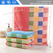 BaoDing supplier yarn dyed dog design terry cotton face towel
