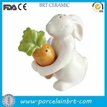 Easter gift for 2016 bunny design popular ceramic Kitchen Decor