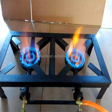 china gas stove manufacture top quality 2 burner cast iron gas cooker / cast iron gas stove wholesale price