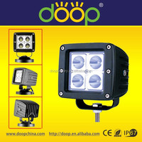 9-32V IP67 4wd atv 4x4 adjustable arm work lamp, 16W rechargeable led magnetic work light, roof light auto led lamp IP67