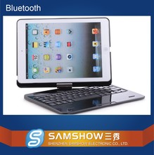 Wireless Keyboards For iPad Air/air2 /mini with Covers Portable Aluminum Alloy 360 Degree Rotating