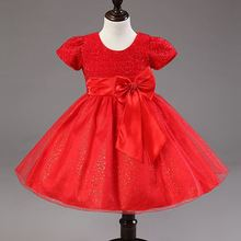 2015 exported to Europe every skirt bowknot skirts on behalf of children's wear a solid color girls skirts children dress