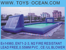 inflatable football pitch /mini football pitch/inflatable soccer arena
