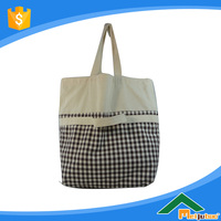 Fashion fashion cotton tote bag with low price