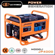 2.5kw gasoline electric generator set with wheels and handles