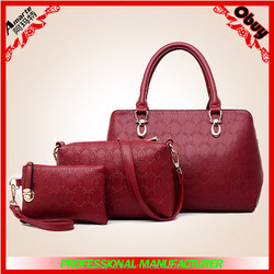 2015 best selling tote Bag Style and PU Wholesale Designer Handbags in China