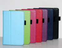 100% high quality leather case cover for leather case for dell venue 7 tablet