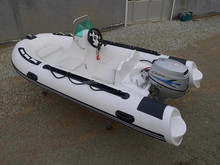 CE certificate 2015 new model fiberglass hull 3.6m rib boat for sale