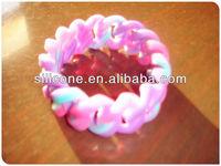 europe silicone bracelet