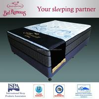 inner spring queen size compress memory foam mattress hotel